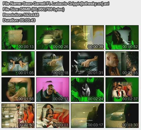 Sean Garrett Ft. Ludacris-Grippin